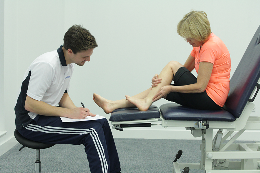 calf pain above ankle biomechanical problems what we treat